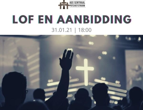 Lof en Aanbidding 31 Jan '21